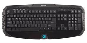 Клавиатура Zalman ZM-K300M Black (20 доп.кл., 8 заменяемых кл.) USB