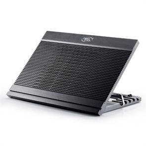 """Подставка (охлаждение) для ноутбука Deepcool N9 BLACK до 17"""" ( Al, 180мм, 3xUSB)"""