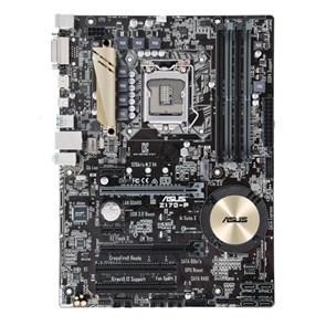 Socket 1151 ASUS Z170-P (iZ170, 4xDDR4, SATA 6Gb/s, DVI/D-SUB/HDMI, GLAN, ATX)