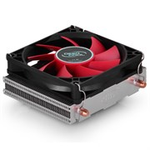 Кулер для S.115X/775/AMD Deepcool HTPC-200 (TDP 95W, heatpipe, Al, 80mm PWM)