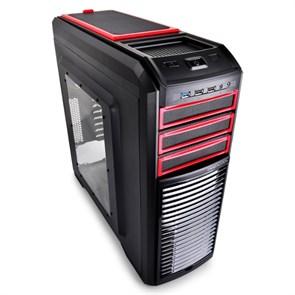 ATX Deepcool KENDOMEN RD без БП, боковое окно, красный/черный