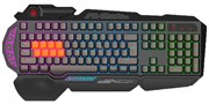Клавиатура A4Tech Bloody B318 игровая, черная, USB