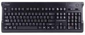 Клавиатура Zalman ZM-K600S Black (игровая, мембранная), USB+PS/2
