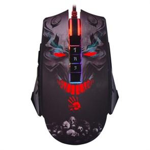 Мышь A4Tech Bloody P85 (Skull), 1000-5000cpi, RGB-подсветка, USB