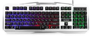Клавиатура Гарнизон GK-500G металл, подсветка, 19кл. Anti-Ghosting, USB