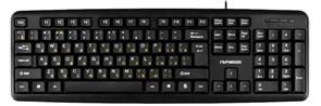 Клавиатура Гарнизон GK-100, USB, черная