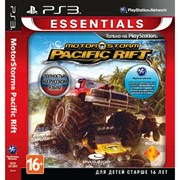Motorstorm Pacific Rift (Essentials) [PS3, русская версия]