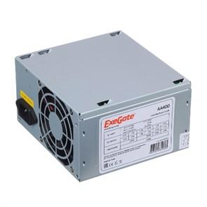 Блок питания ATX 400W ExeGate (ATX-AA400), 12V@13A+16A, 8cm fan