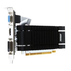 PCI-E x16 GeForce GT 730 MSI N730K-2GD3H/LP 2GB DDR3 64bit (RTL)