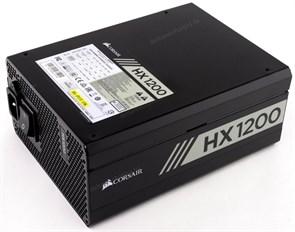 Блок питания ATX 1200W Corsair HX1200 (CP-9020140-EU) 80+ Platinum, модульный