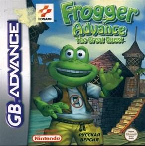 Frogger Advance-The Great Quest (игра для игровой приставки GBA)