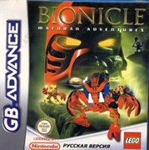 Bionicle Matoran Adventures (игра для GBA)
