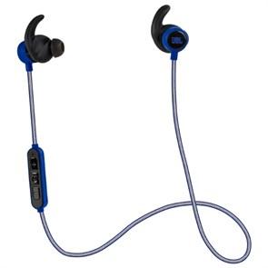 Гарнитура JBL Reflect Mini BT Blue (внутриканальные амб., синяя, 10 Гц-20кГц, спорт, Bluetooth)