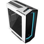 ATX Aerocool Project 7 P7-C1 White (с окном, RGB-подсветка, USB 3.0, card reader, w/o PSU)