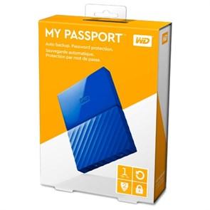 """USB 3.0 HDD 2.5"""" 1 TB WD My Passport™ Blue (WDBBEX0010BBL-EEUE)"""