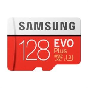 microSD Memory Card SDXC 128GB Class10 UHS-I U3 Samsung EVO Plus (MB-MC128GA/RU)